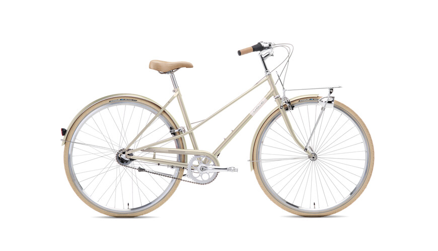 Creme Caferacer Lady Solo 3-speed champagne